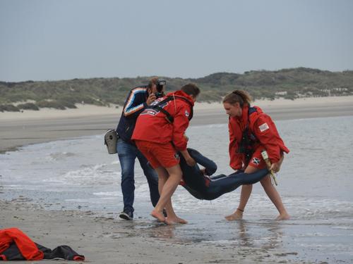 Rescue exercise Zeebrugge 8 Aug 17
