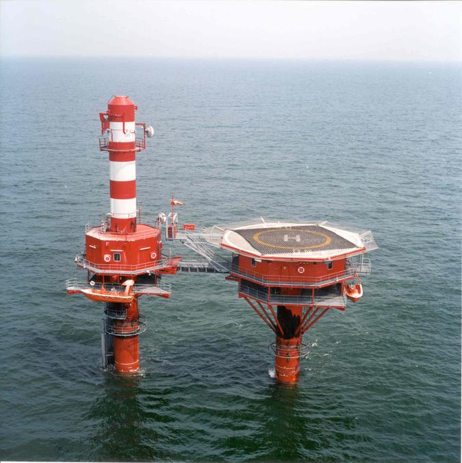 Scheepvaartbegeleiding - radartoren Oostdyckbank