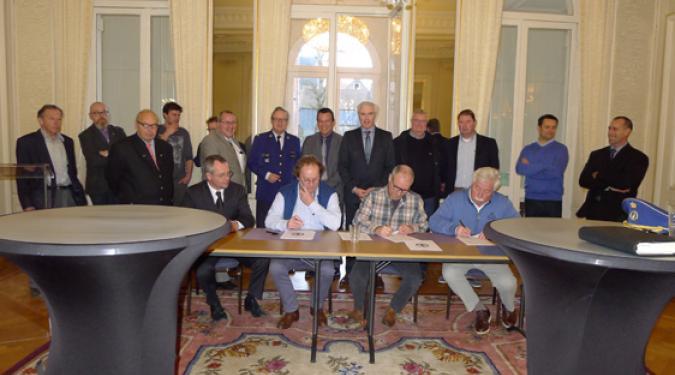Ondertekening charter BIN jachthavens