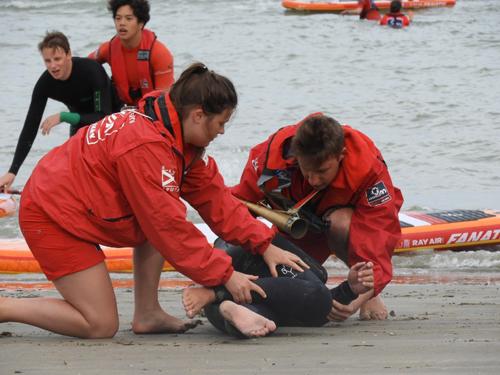 Exercice de sauvetage Zeebrugge 8 août 17