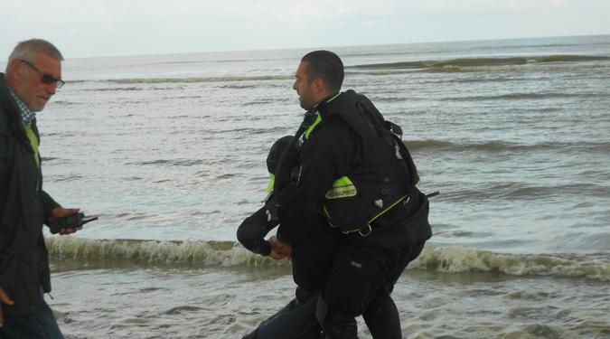 Exercice de sauvetage 9 sep 14